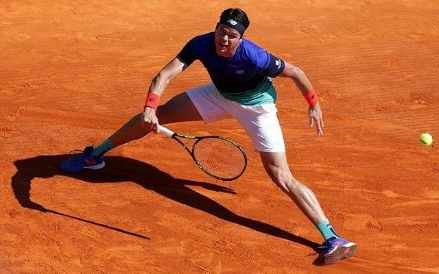 Raonicra kemény csata vár. - Fotó: ATP
