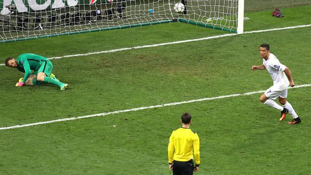Ronaldo tizenegyesgólja 9-szeres pénzt érhet / Fotó: tribuna.com