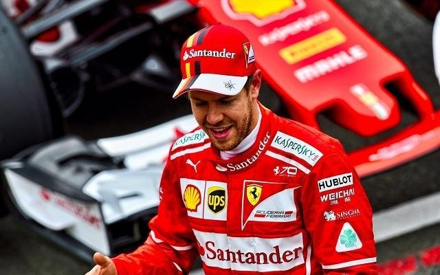 Vettel sorozatban harmadszor indulhat a pole-ból. - Fotó: Twitter