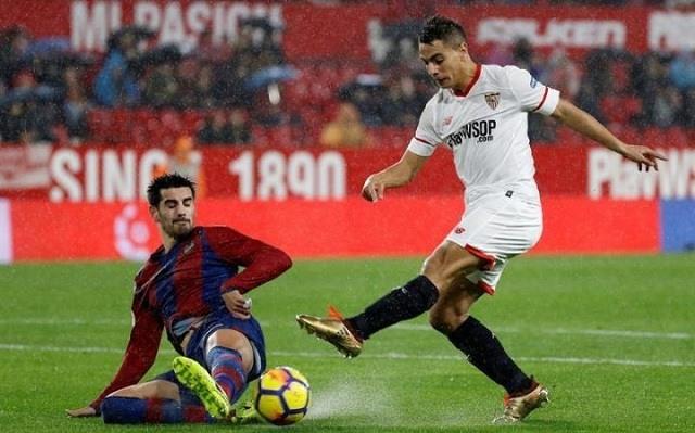 A Sevilla favoritként várja a Levante elleni derbit. - Fotó: Twitter