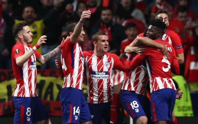 Az Atlético Madrid EL-fináléja az első ilyen mérkőzés - Fotó: Archív