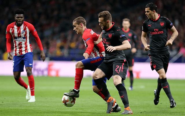 A bukiknál az Atlético a favorit az EL-döntőben. - Fotó: Twitter