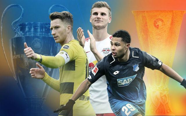 A szombati játéknap kulcsemberei. fotó: Bundesliga Official