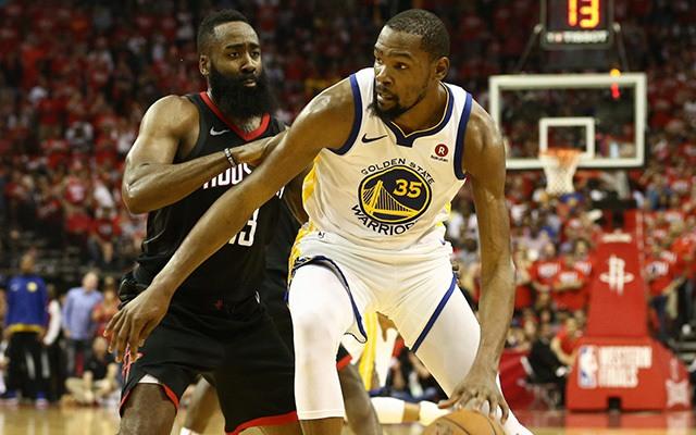 Ahogy Curry is fogalmazott, Durantet senki nem tudja levédekezni a ligában. fotó: NBA.com