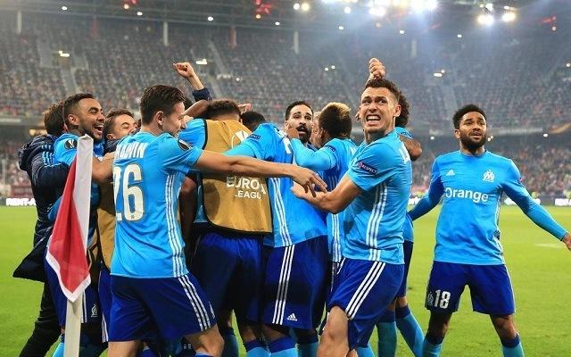 A Marseille nehezen rágta át magát a Salzburgon. - Fotó: Twitter