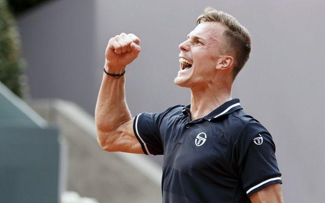 Fucsovics első ATP-döntőjére készül Genfben. - Fotó: ATP