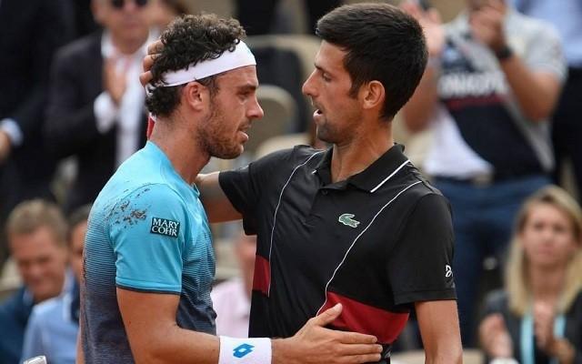 Cecchinato élete győzelmét aratta Djokovics ellen. - Fotó: ATP
