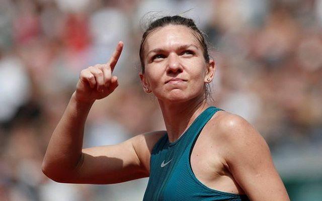 Halep harmadik Roland Garros elődöntőjére készül. - Fotó: WTA
