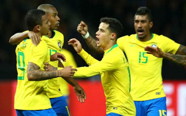 A brazilok kedden Prágában játszanak edzőmeccset. - Fotó: fourfourtwo
