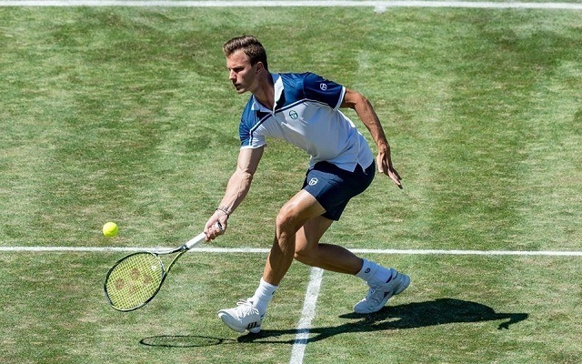 Fucsovics nem esélytelen a 2016-os wimbledoni döntős ellen. - Fotó: ATP