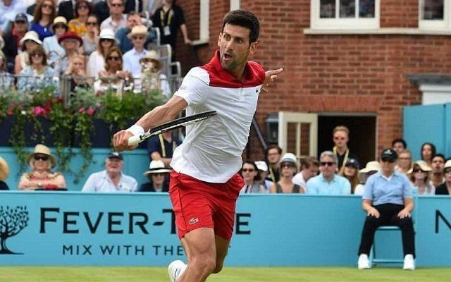 Djokovics sima rajtot vett Londonban. - Fotó: ATP