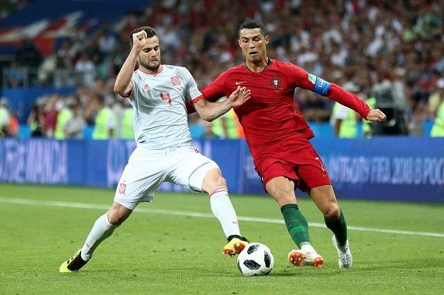 Ronaldo a spanyolok elleni meccsen megállíthatlatlan volt / Fotó: fifa.com