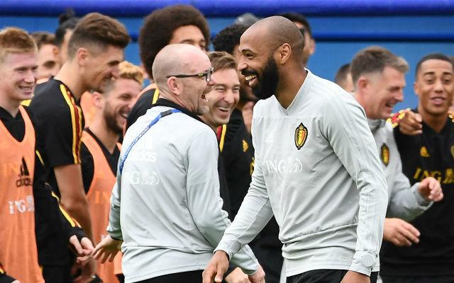 A meccs egyik pikantériája, hogy a franciák ikonja az ellenfelet segíti. fotó: The Week UK