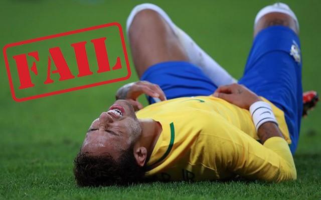 Tény, hogy rengeteget szabálykodtak vele szemben, de például Messit ki látta valaha így szenvedni? fotó: ESPN