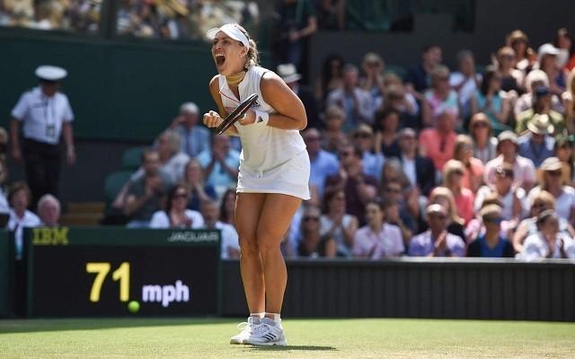 Revansra készül Kerber. - Fotó: Wimbledon