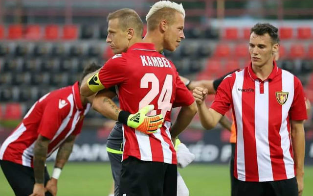 Zsinórban két győzelemmel a tarsolyban várják a meccset Kamberék. fotó: Kispest Facebook