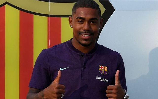 A Bordeaux-tól megszerzett 21 éves Malcom bevetésre készen. fotó: Sky Sports