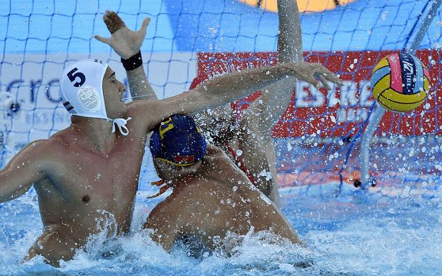 A hetedik helyért játszanak Vámos Mártonék. - Fotó: MTI