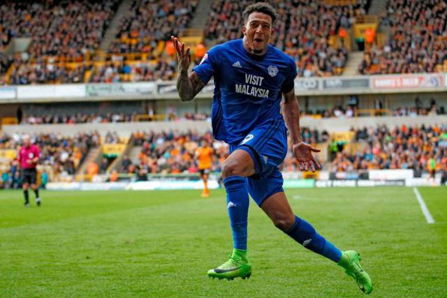 Egy játékos, akire azért érdemes lesz figyelni a Cardiffból: Nathaniel Mendez-Laing - Fotó: WalesOnline