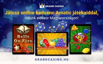 Már online is vár a Grand Casino izgalmas világa