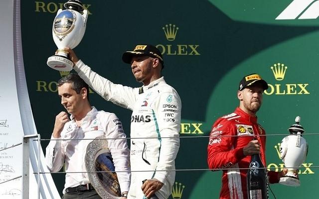Hamilton nyert a Hungaroringen. - Fotó: Twitter