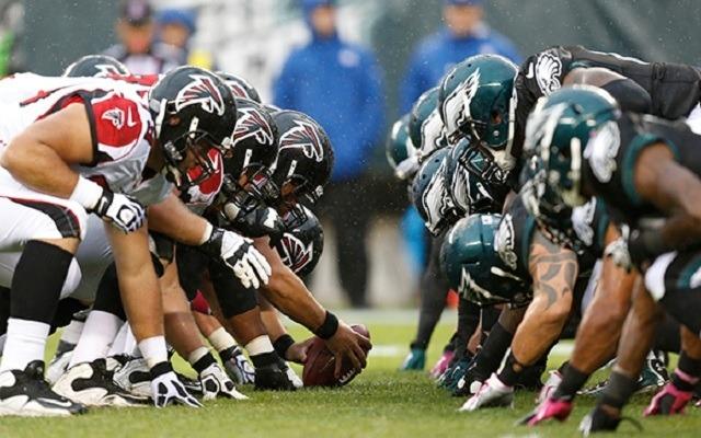 A Falcons és az Eagles néz farkasszemet egymásal az alapszakasz első meccsén. - Fotó: NFL