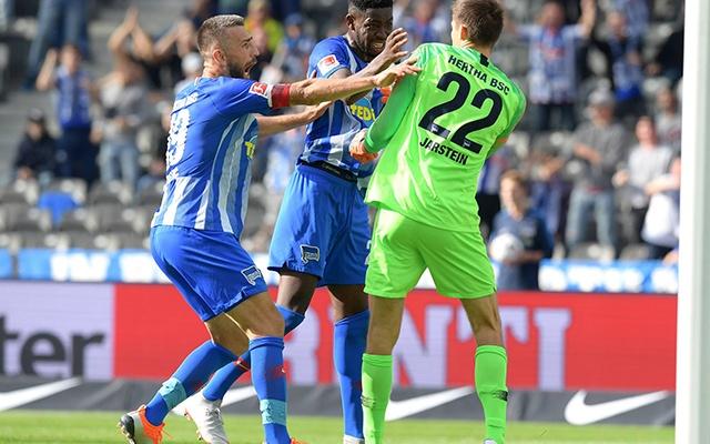 Jarstein volt a Nürnberg elleni 1-0 hőse. Fotó: herthabsc.com