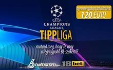 Indul a BL-Tippliga fordulónként 120 euró nyereménnyel!