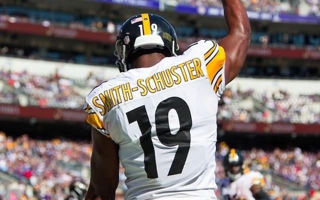 Két meccs után 240 yard áll JuJu Smith-Schuster neve mellett. - Fotó: NFL