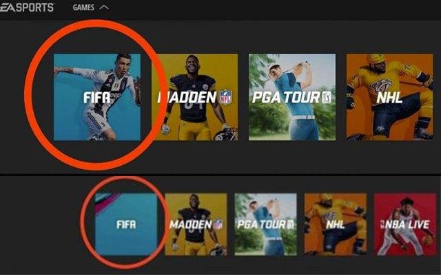 Volt, nincs Ronaldo. fotó: EA