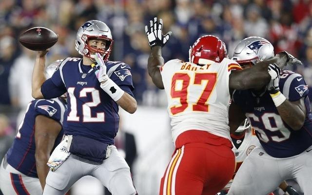 Kemény kirándulás vár Tom Bradyékre Chicagóba. - Fotó: NFL