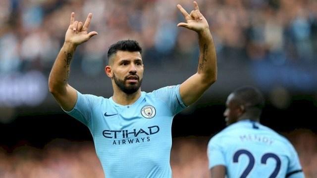 Aügero hét góllal vette ki idáig a részét a termésből/ Manchester City Facebook