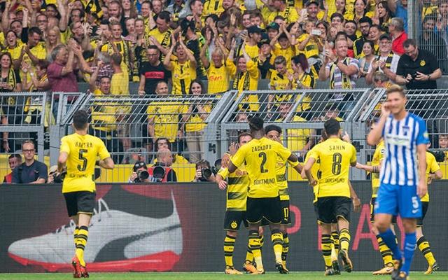 Tavaly a Signal Idunában 2-0-ra kikapott a Hertha a bajnokságban. fotó: bvb.de