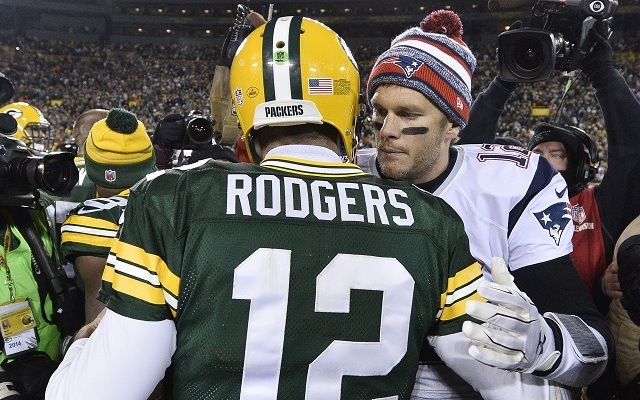 Legendák egymás ellen. - Fotó: NFL