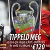 Trafáld el az első gól idejét a Juve-Uniteden és nyerj akár 120 eurós sportfogadótőkét!