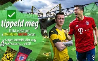 Vajon ki indítja a gólgyártást a Dortmund-Bayernen? Tippelj az ajándékokért!