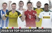 Óriásit kaszálhatunk, ha letaszítják Lewandowskit a gólkirályi trónról