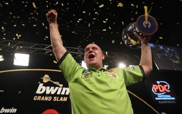Van Gerwen az elmúlt három GS-t megnyerte. - Fotó: PDC