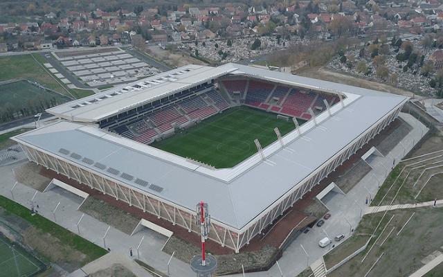 Szerdától itt játssza hazai meccseit a Vidi. - Fotó: molvidi.hu