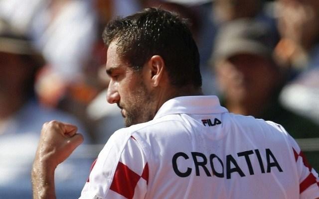 Marin Cilic két éve a döntőben bukott el. - Fotó: Davis Kupa