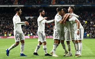 2.62-es oddson nyerhet a Real Madrid