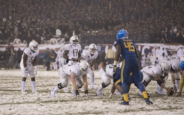 A tavalyi meccsükön szakadt a hó Philadelphiában. - Fotó: Twitter
