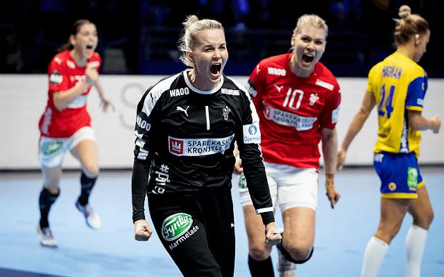 A dánok a második meccsüket is megnyerhetik az Eb-n. - Fotó: fra2018.ehf-euro.com