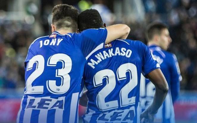 A három gólnál és öt gólpassznál járó Jony stabil kezdője az Alavésnek. fotó: archív