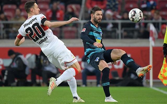 Stuttgartban megégtek Dárdaiék, itt a lehetőség a javításra. fotó: Hertha Official