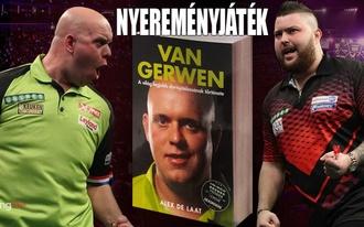 Oszd meg a tipped a darts-vb döntőjére és nyerj Van Gerwen-könyvet