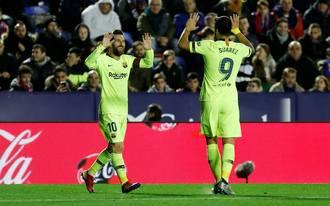 Triplázhatunk egy újabb Messi-parádéval
