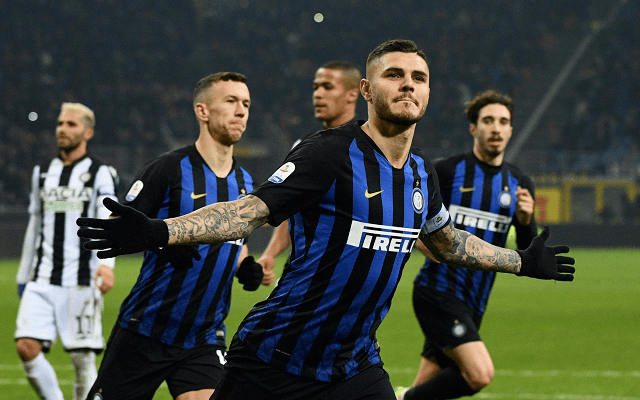 Az Inter a Napolit fogadja szerdán. - Fotó: Twitter