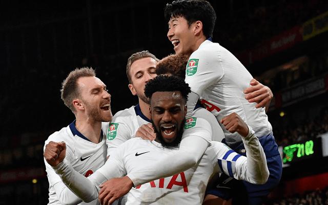 A Tottenham az Evertont is legyőzheti. - Fotó: Twitter