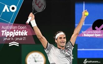 Tippelj az Australian Openre és nyerj páros belépőt a budapesti tenisztornára